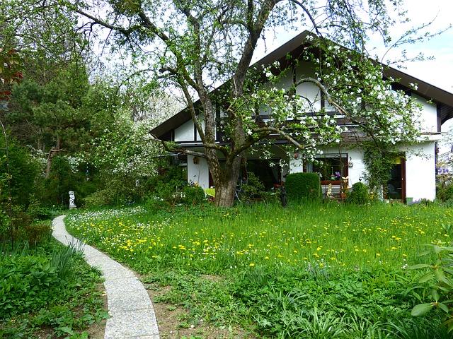 rodinný dům s velkou zahradou