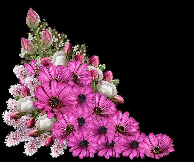 dekorační kytice