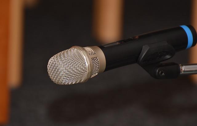 mikrofon na rozhovory