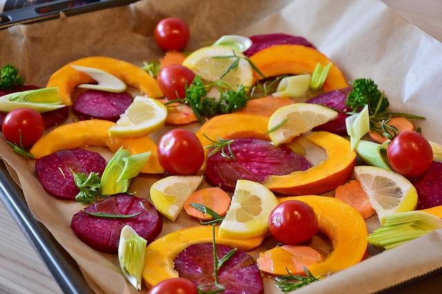 zelenina na pekáči