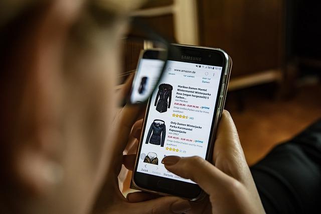kupování oblečení