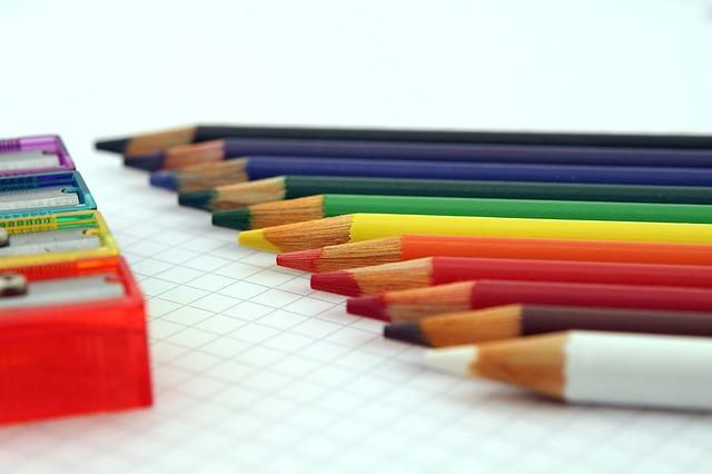 barevné pastelky
