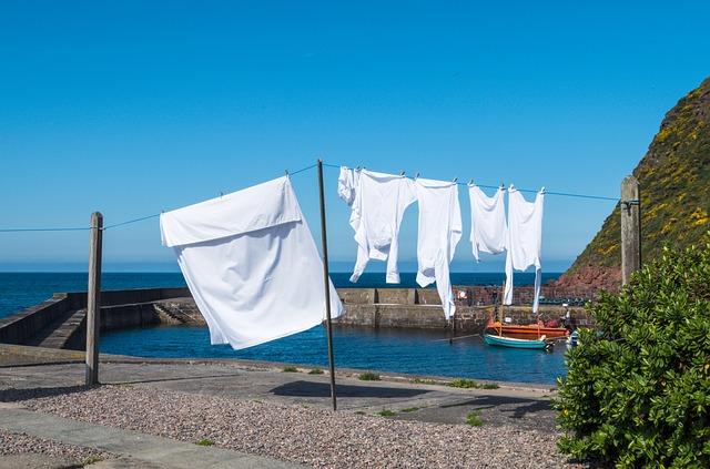 věšení prádla
