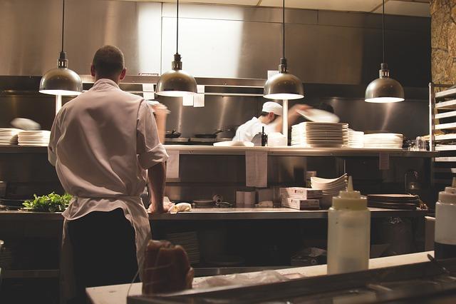 hotelová kuchyně