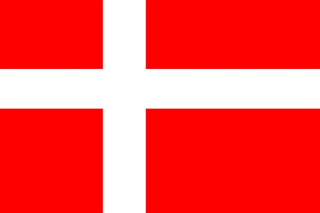 vlajka Dánska