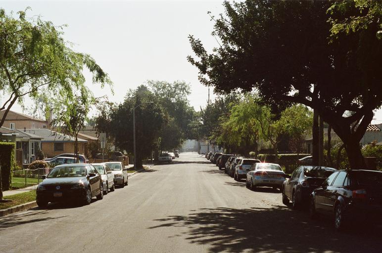 parkující vozy