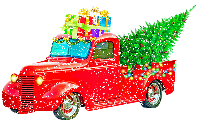 vánoční náklad