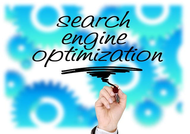 Optimalizace pro internetové vyhledávače na pozadí ozubených koleček